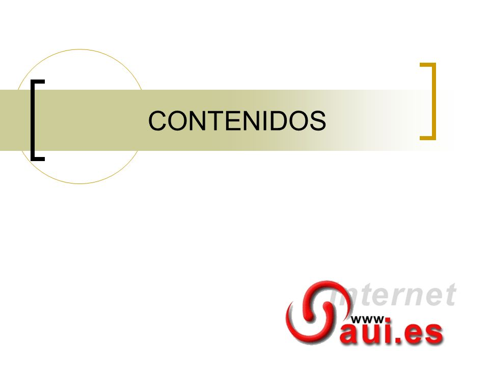 CONTENIDOS