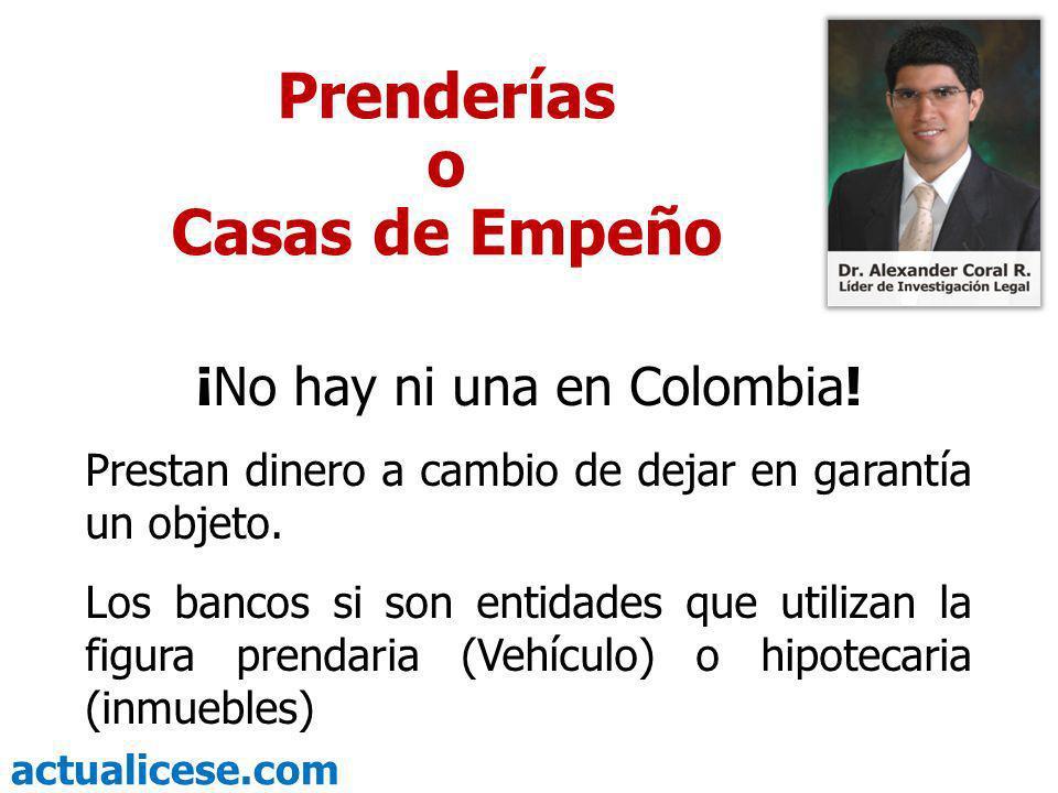 ¡No hay ni una en Colombia!