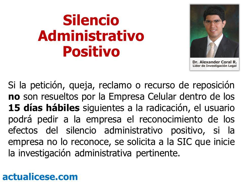 Silencio Administrativo Positivo