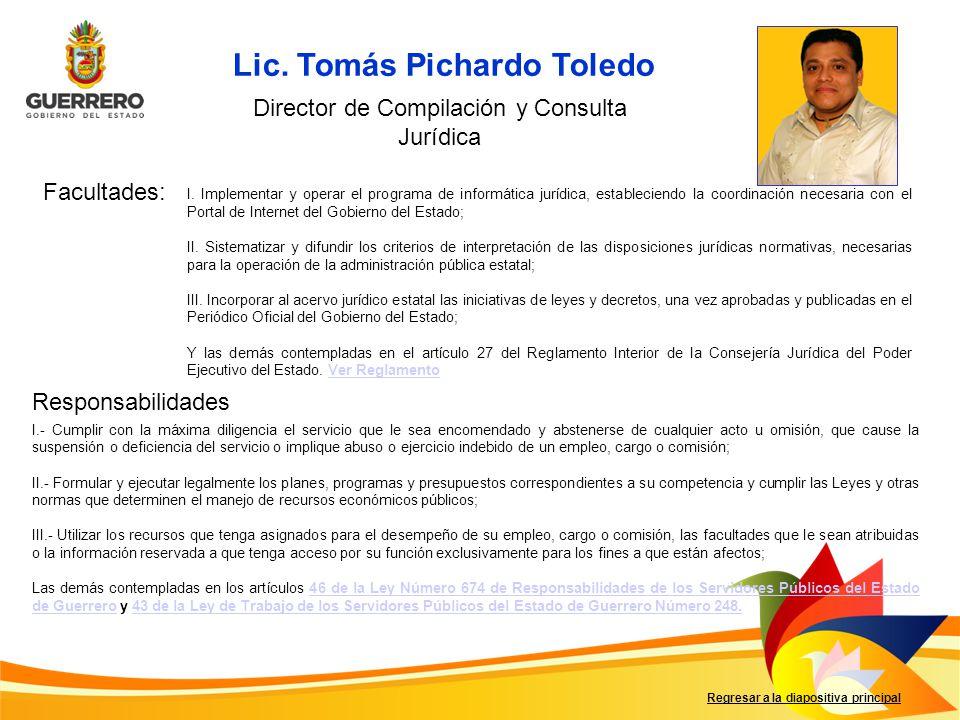 Director de Compilación y Consulta