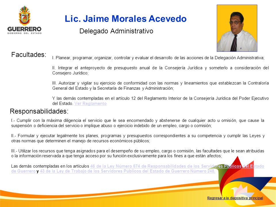 Delegado Administrativo