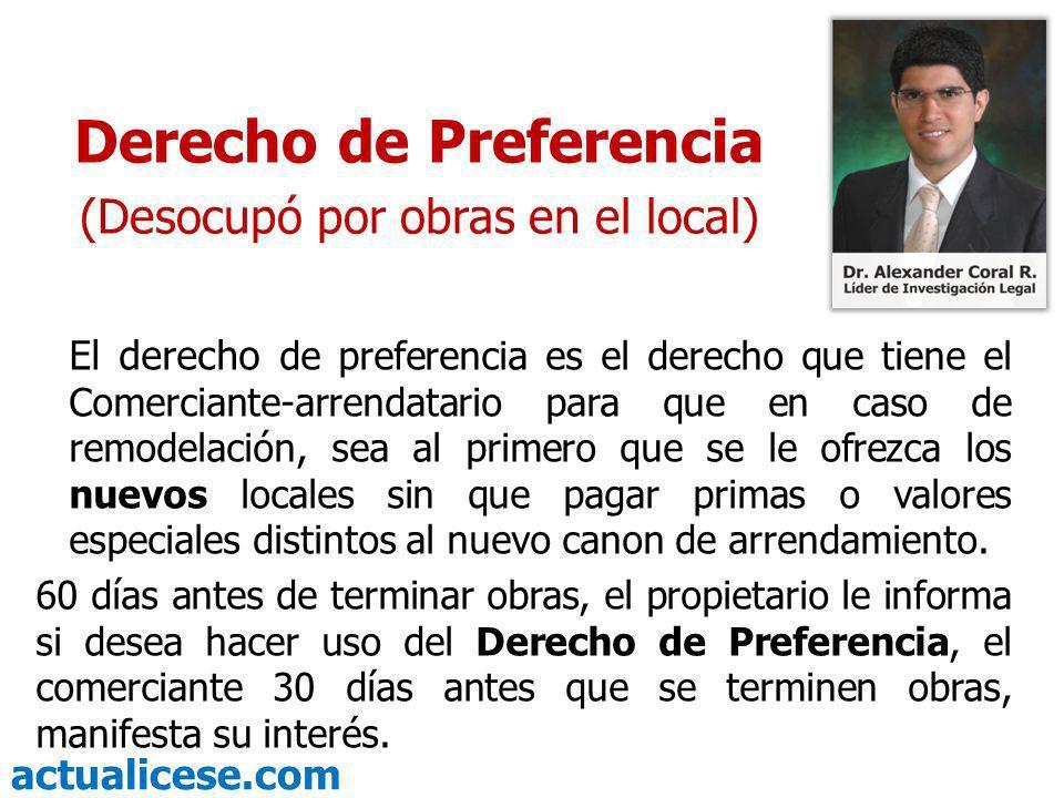 Derecho de Preferencia