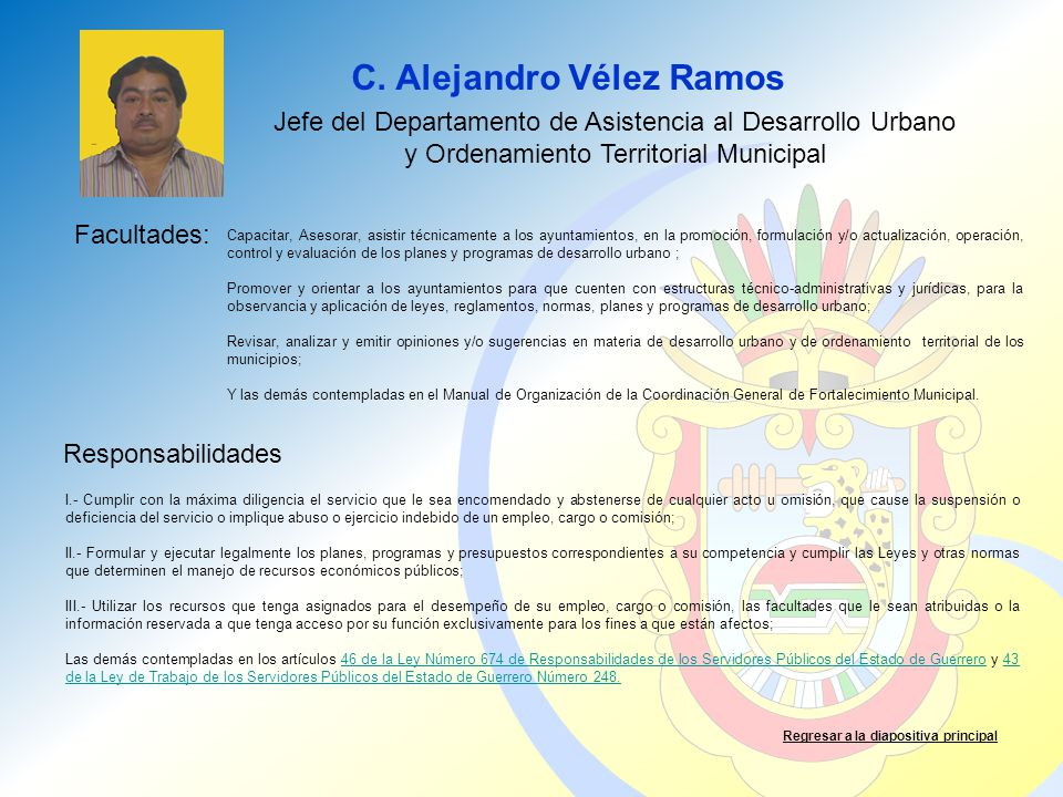 C. Alejandro Vélez Ramos