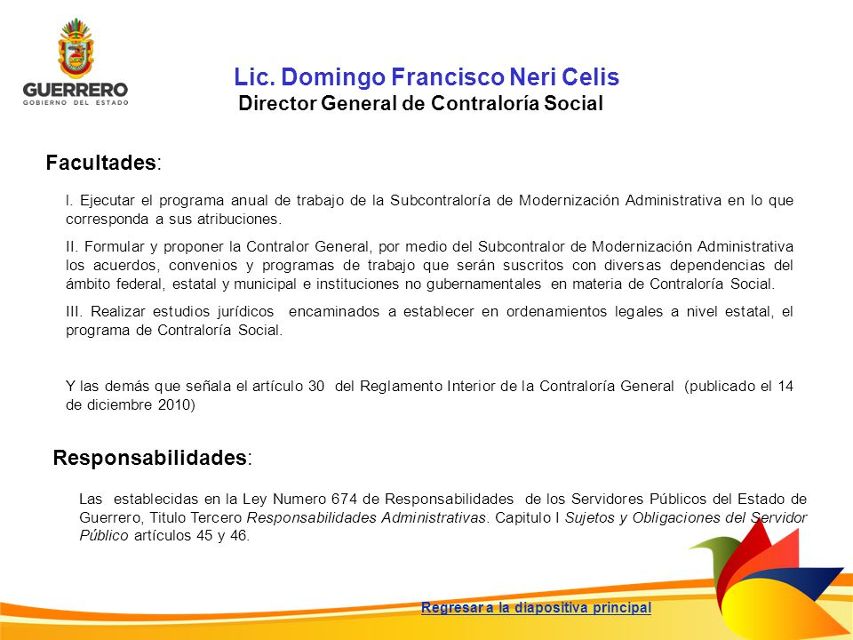 Lic. Domingo Francisco Neri Celis