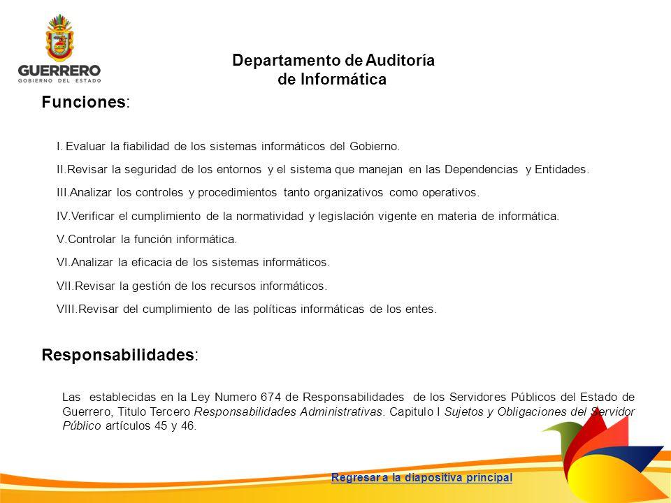 Departamento de Auditoría