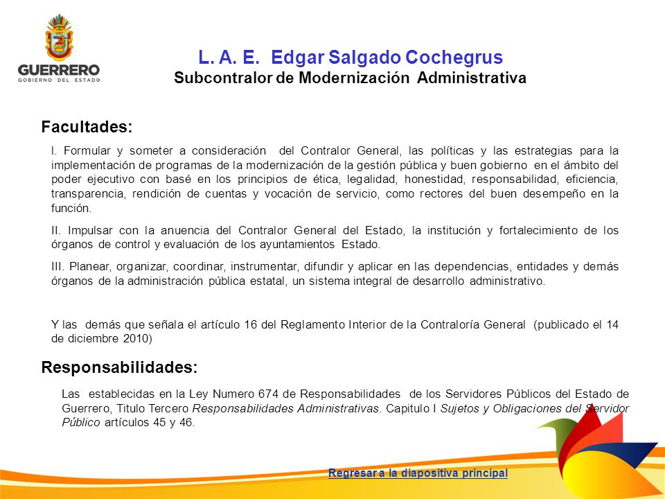 L. A. E. Edgar Salgado Cochegrus