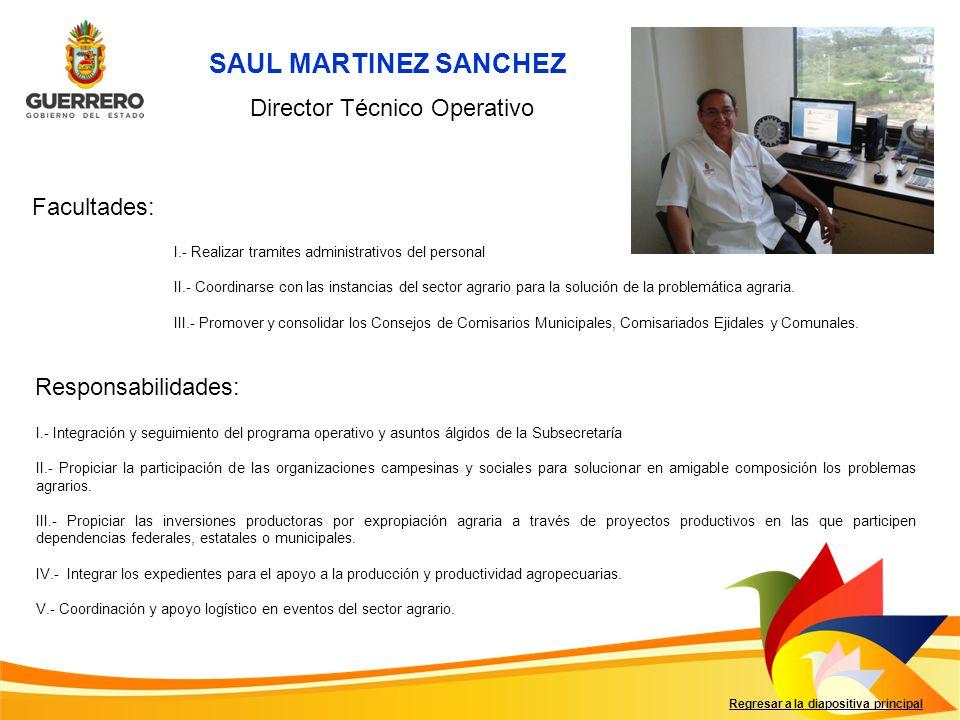 Director Técnico Operativo