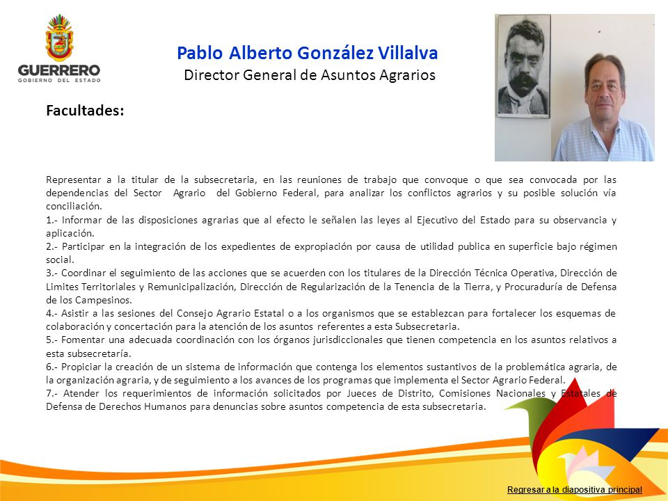 Director General de Asuntos Agrarios