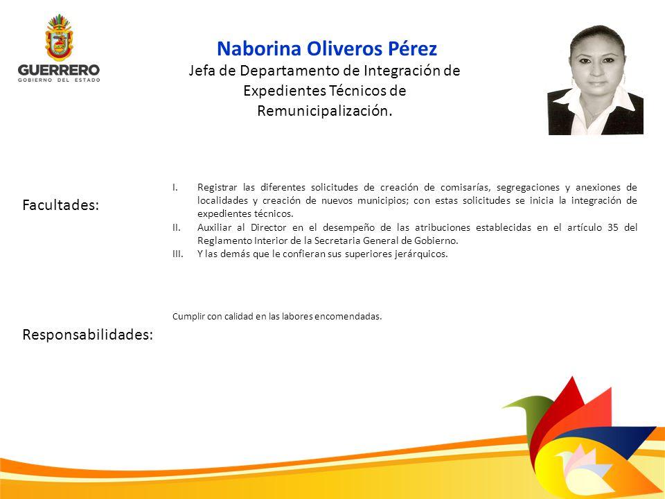 Naborina Oliveros Pérez