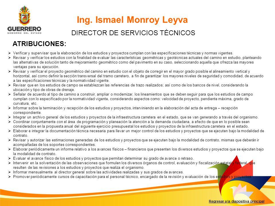 DIRECTOR DE SERVICIOS TÉCNICOS