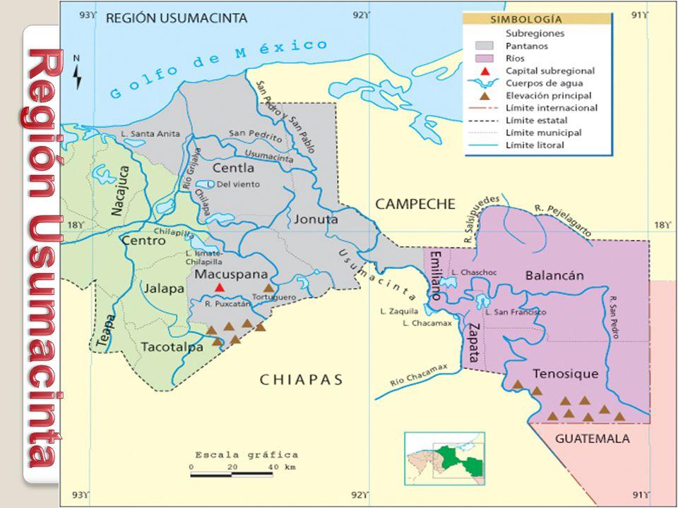 Región Usumacinta