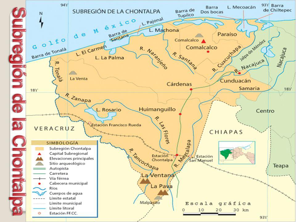 Subregión de la Chontalpa