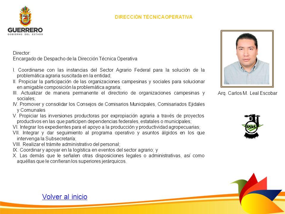 DIRECCIÓN TÉCNICA OPERATIVA