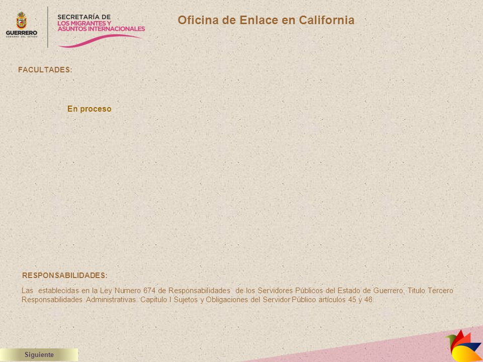 Oficina de Enlace en California