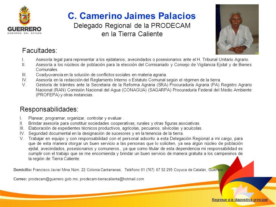 C. Camerino Jaimes Palacios