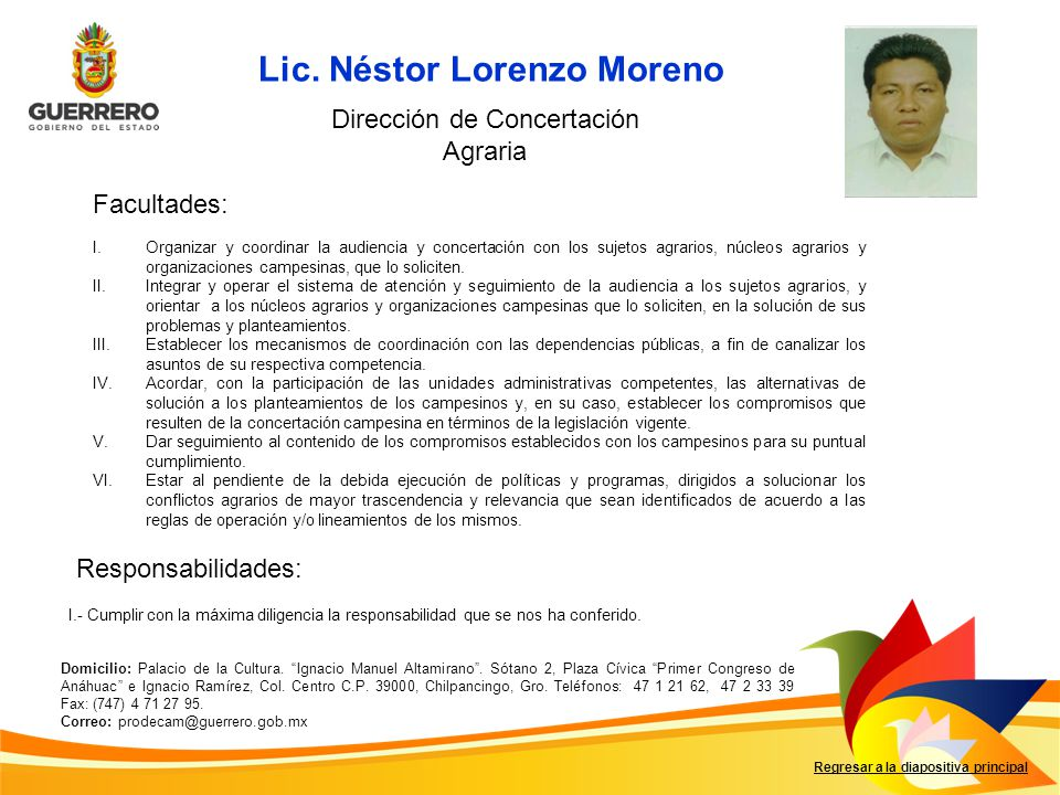 Lic. Néstor Lorenzo Moreno