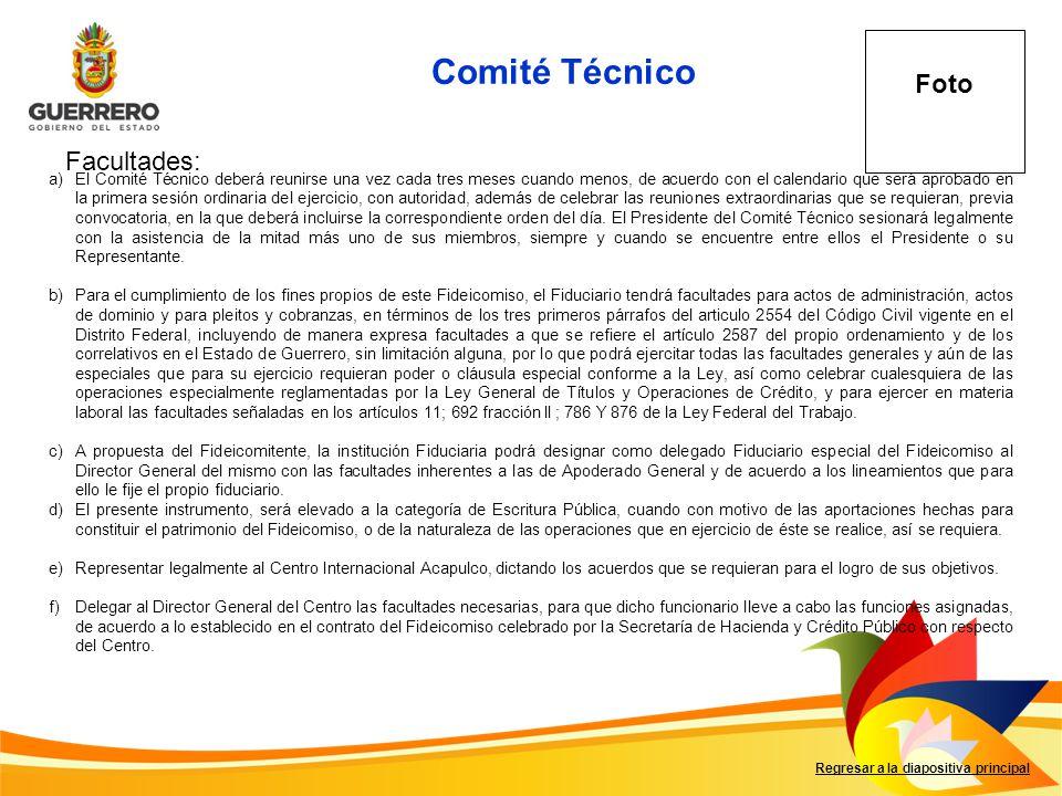 Comité Técnico F Foto Facultades: