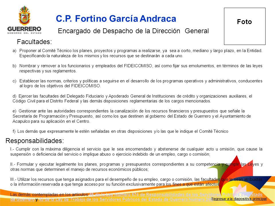 C.P. Fortino García Andraca