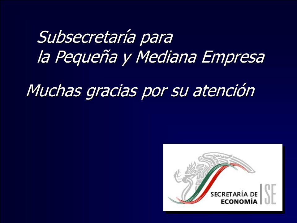 Subsecretaría para la Pequeña y Mediana Empresa