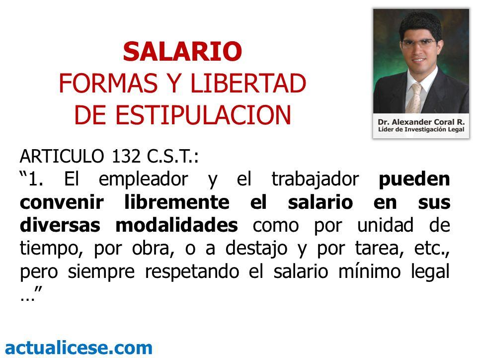FORMAS Y LIBERTAD DE ESTIPULACION