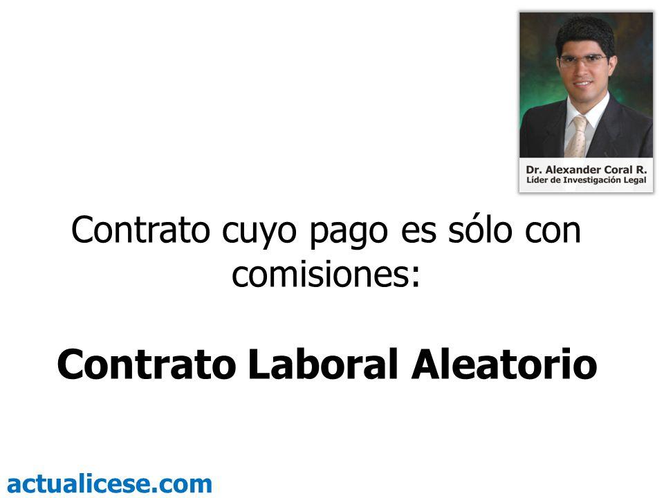 Contrato Laboral Aleatorio
