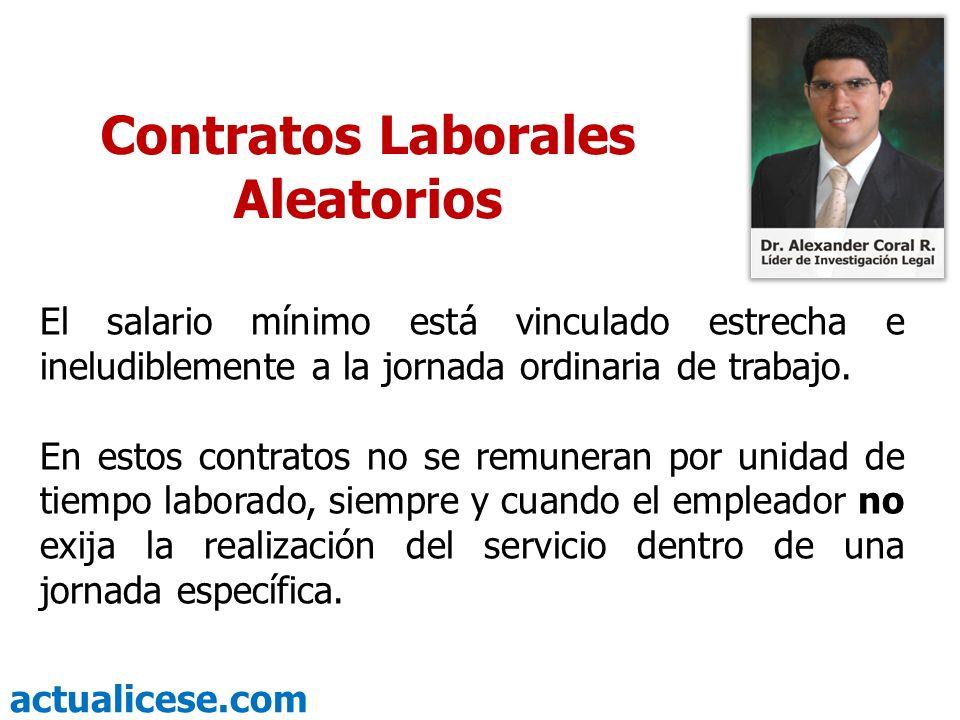 Contratos Laborales Aleatorios