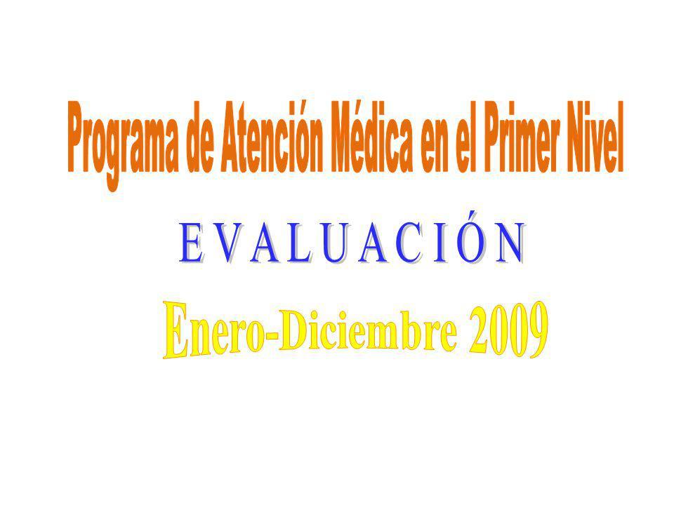 Programa de Atención Médica en el Primer Nivel