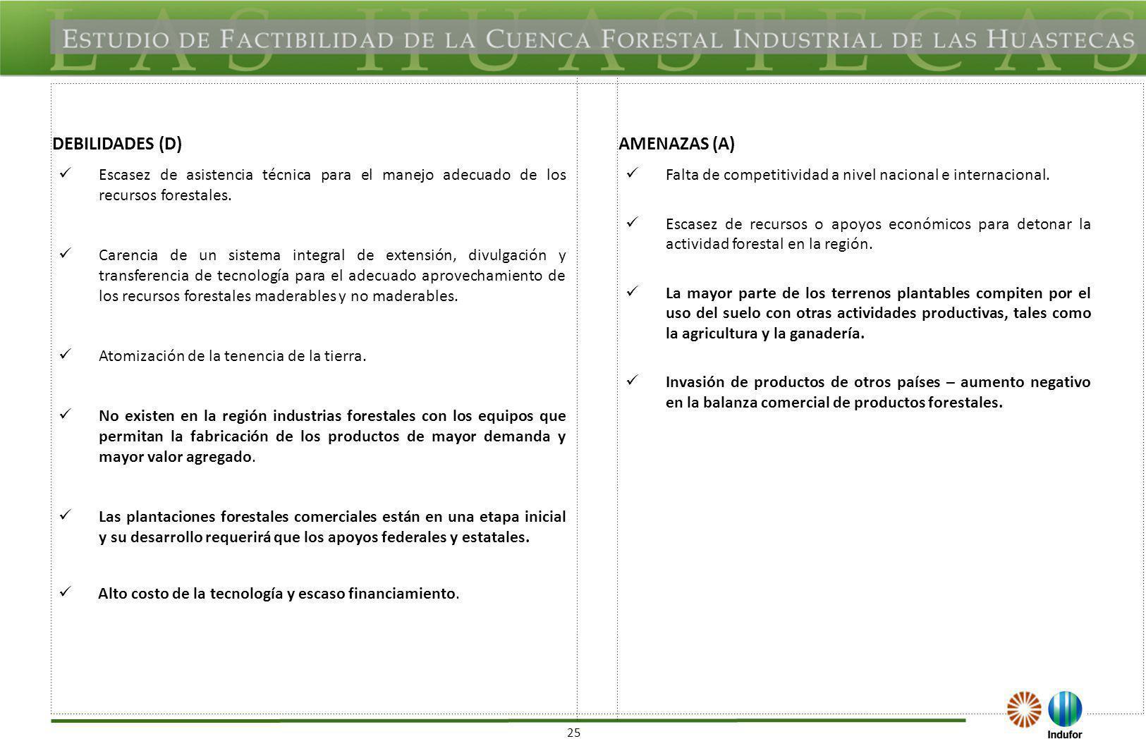 SAN LUIS POTOSÍ FORTALEZAS (F) OPORTUNIDADES (O)