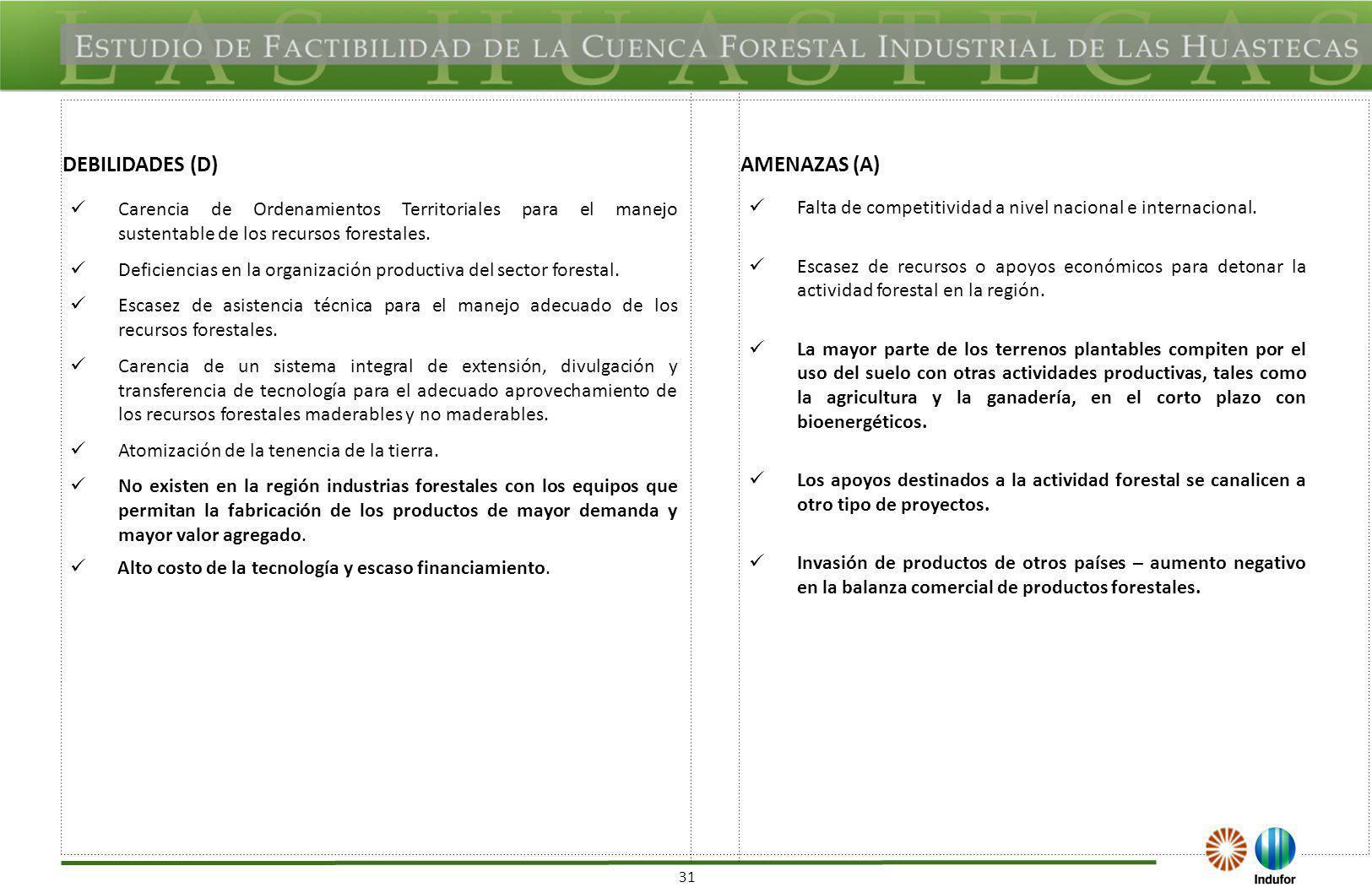 FODA REGIONAL APOYOS PARA EL DESARROLLO FORESTAL