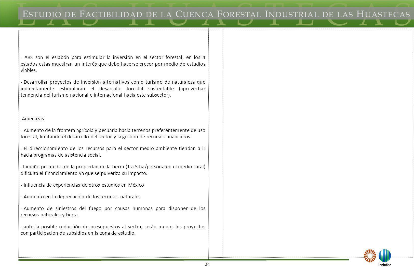 Análisis FODA de Mercados de Productos Forestales (cap. VII y VIII)