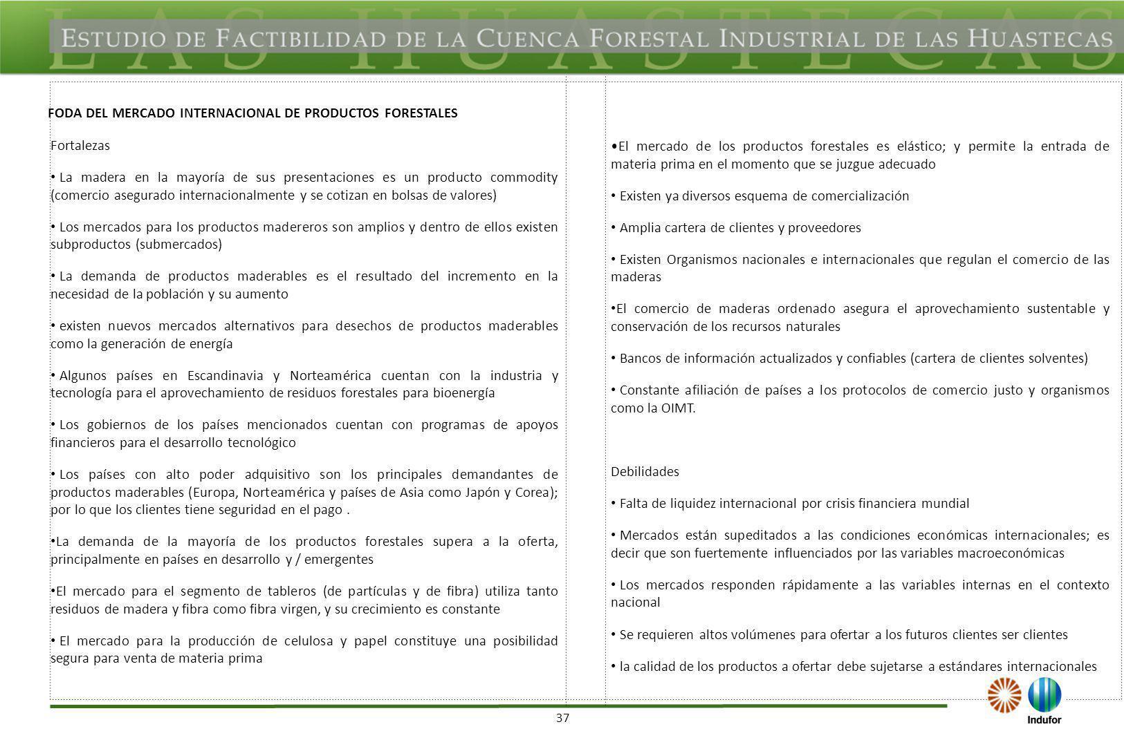 contracción de la industria papelera en algunos países como en México