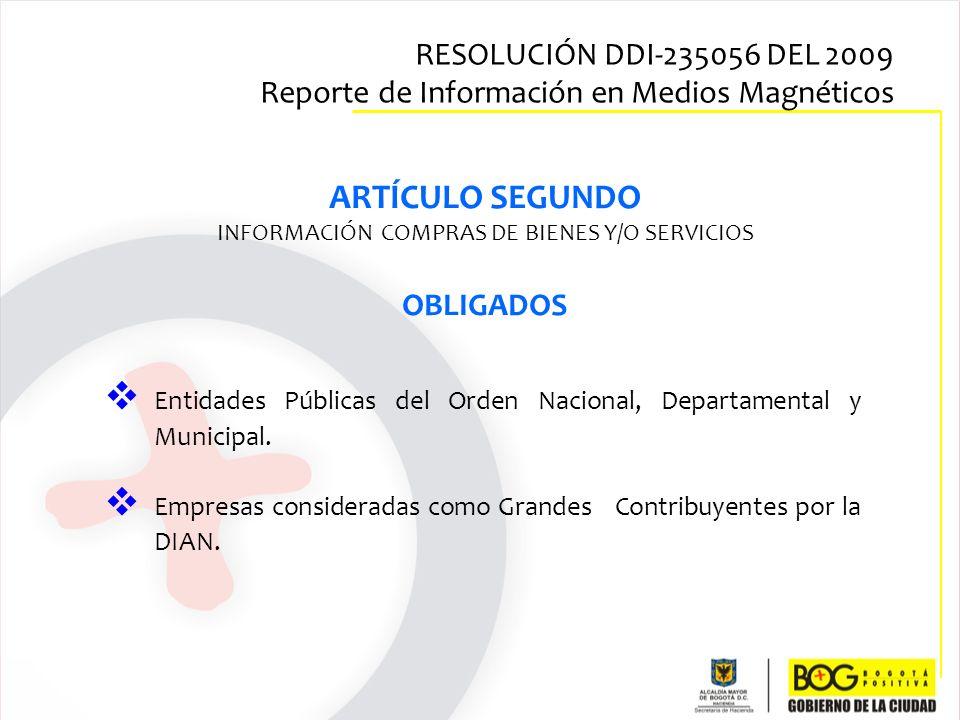 INFORMACIÓN COMPRAS DE BIENES Y/O SERVICIOS