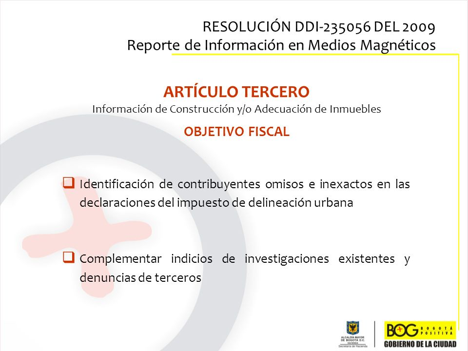 Información de Construcción y/o Adecuación de Inmuebles
