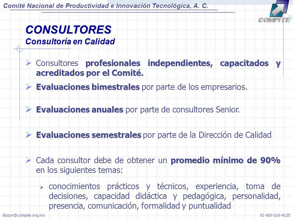 CONSULTORES Consultoría en Calidad