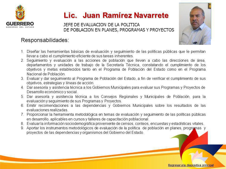 Lic. Juan Ramírez Navarrete
