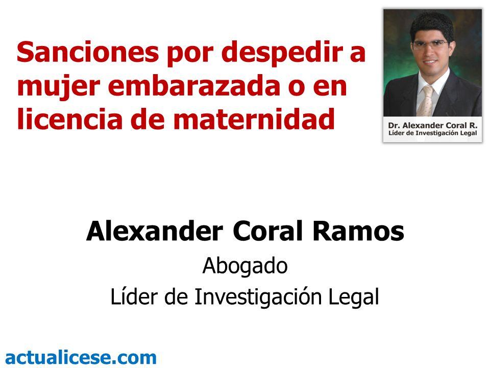 Líder de Investigación Legal