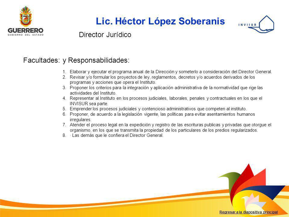 Lic. Héctor López Soberanis