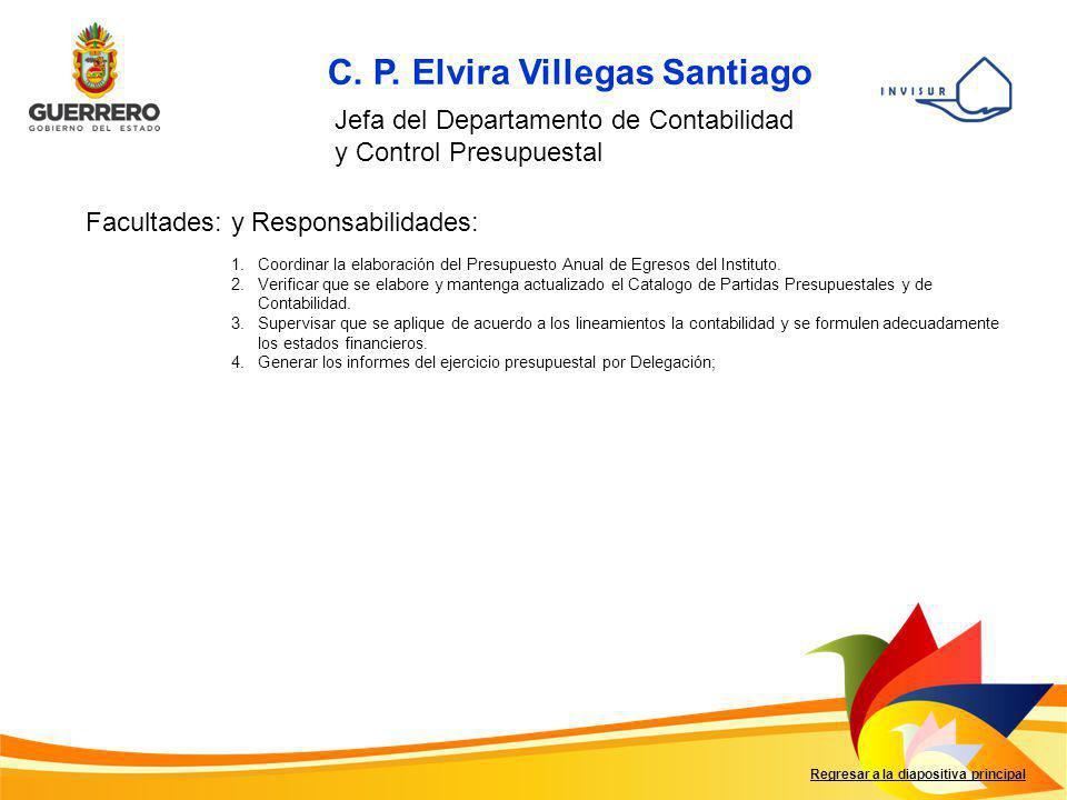 C. P. Elvira Villegas Santiago