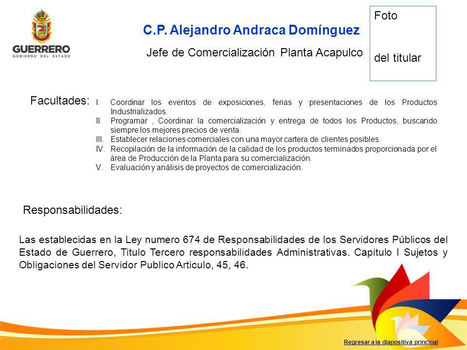 C.P. Alejandro Andraca Domínguez