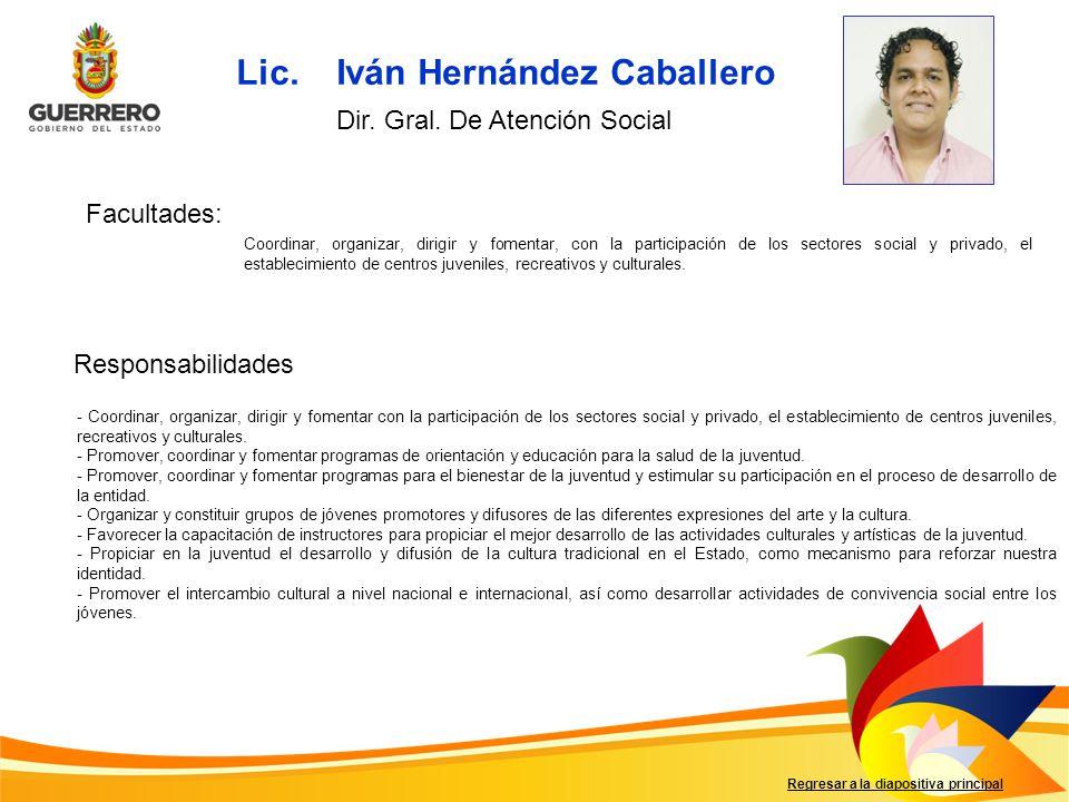 Lic. Iván Hernández Caballero