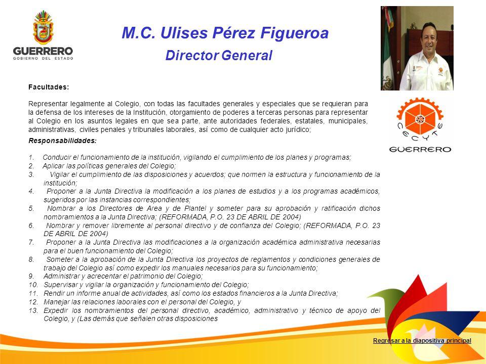 M.C. Ulises Pérez Figueroa