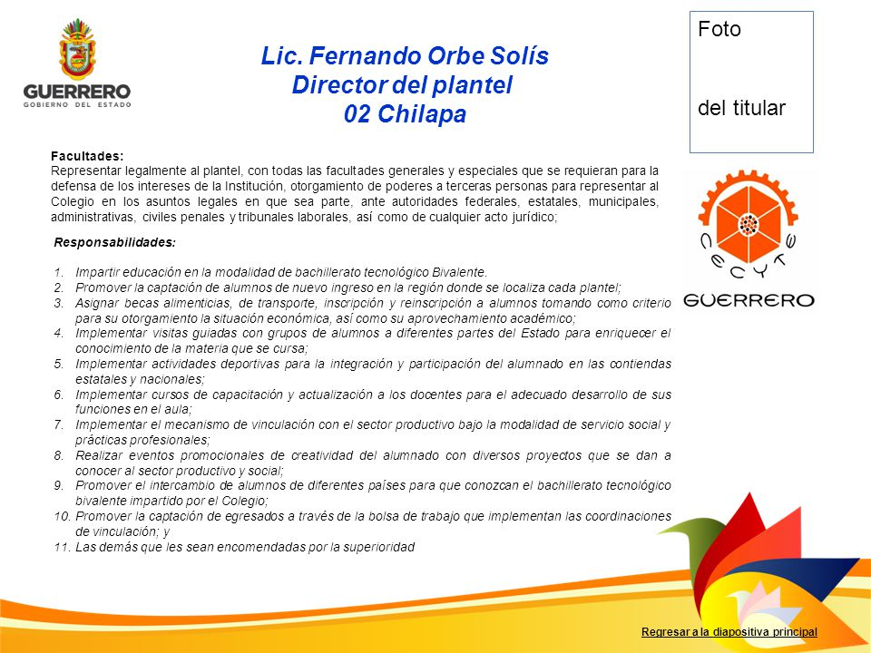 Lic. Fernando Orbe Solís