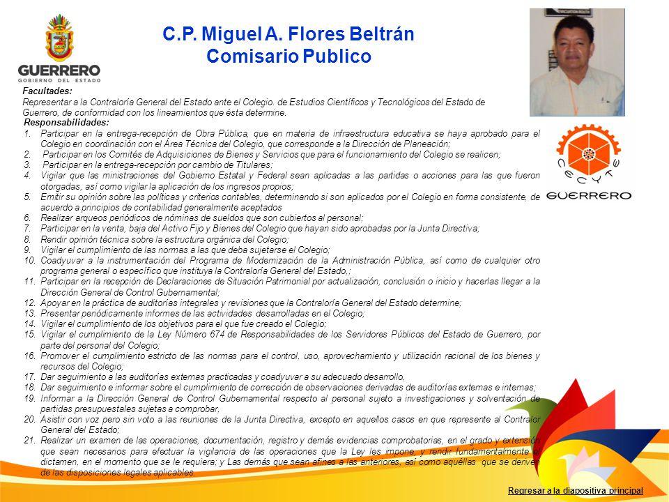 C.P. Miguel A. Flores Beltrán
