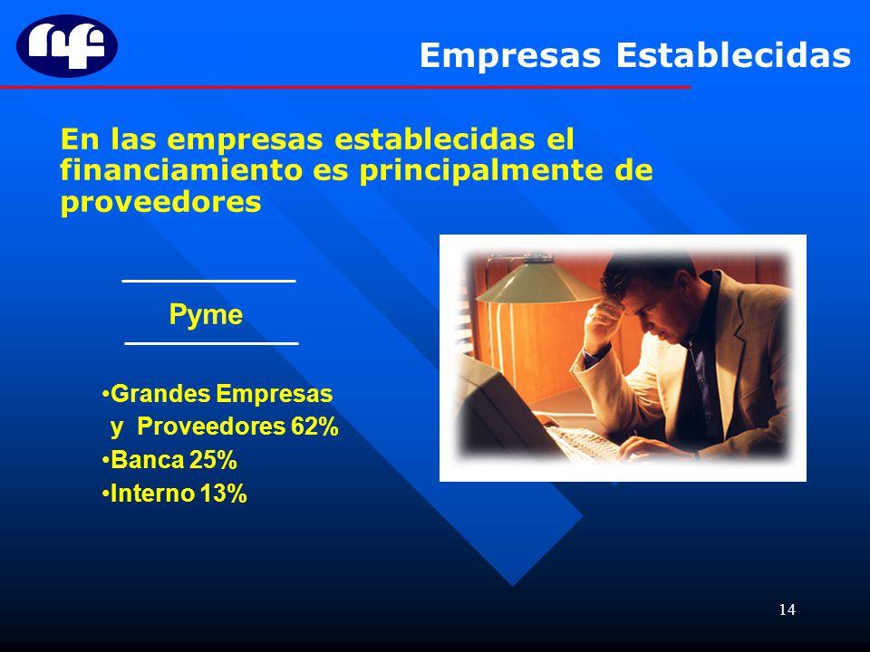 Empresas Establecidas
