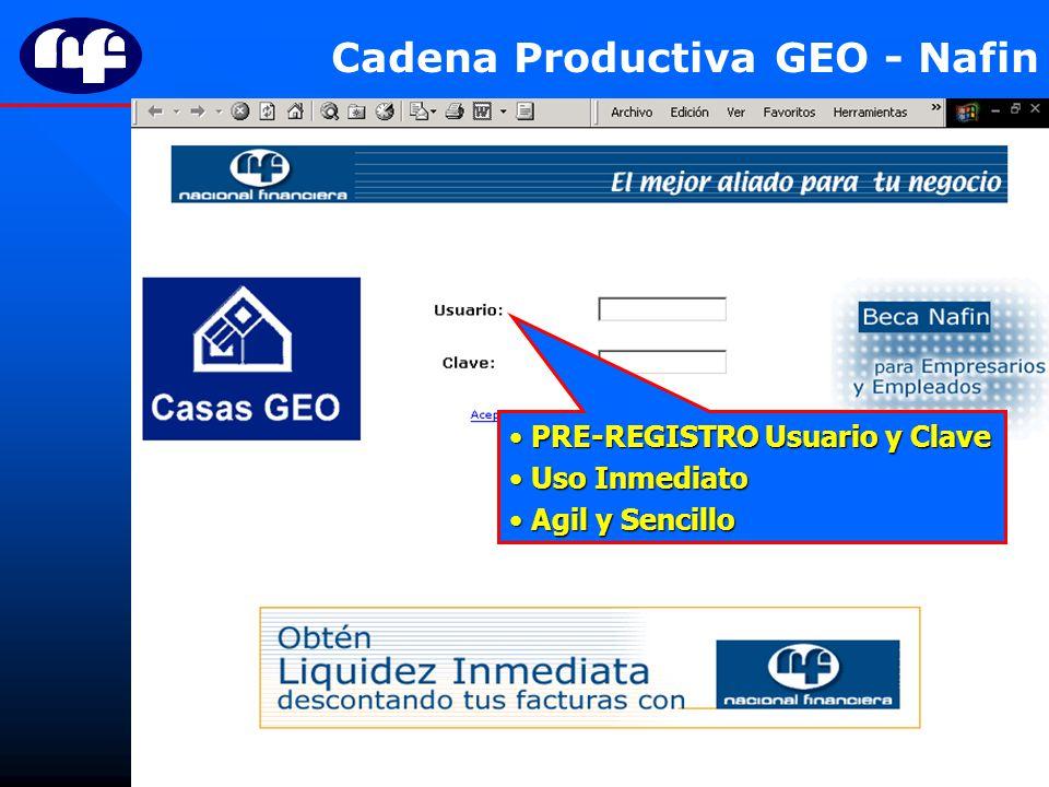 Cadena Productiva GEO - Nafin