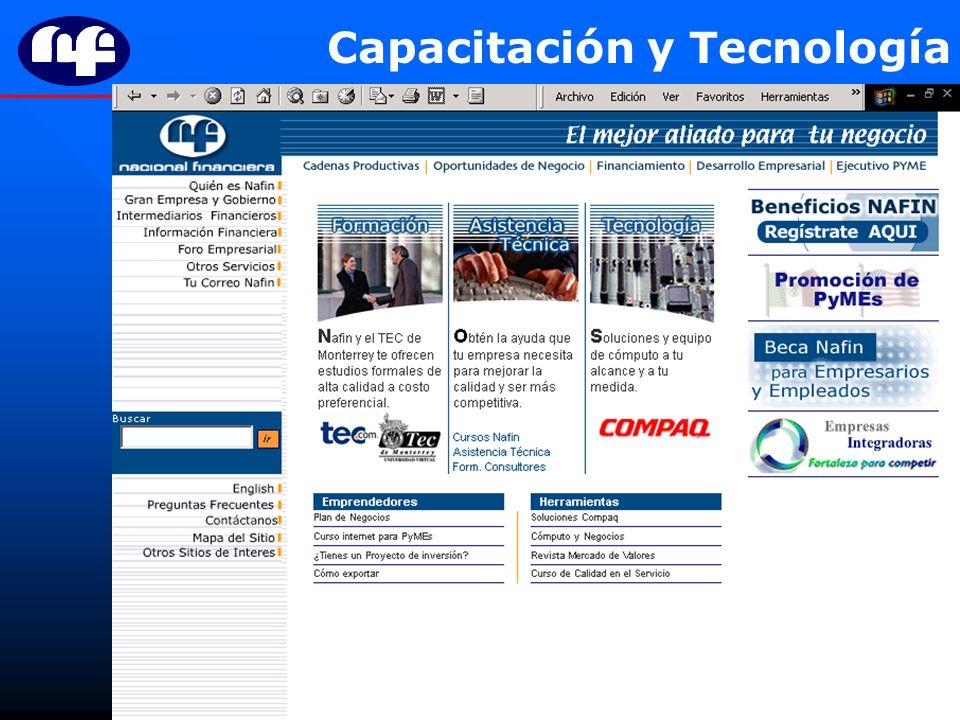 Capacitación y Tecnología