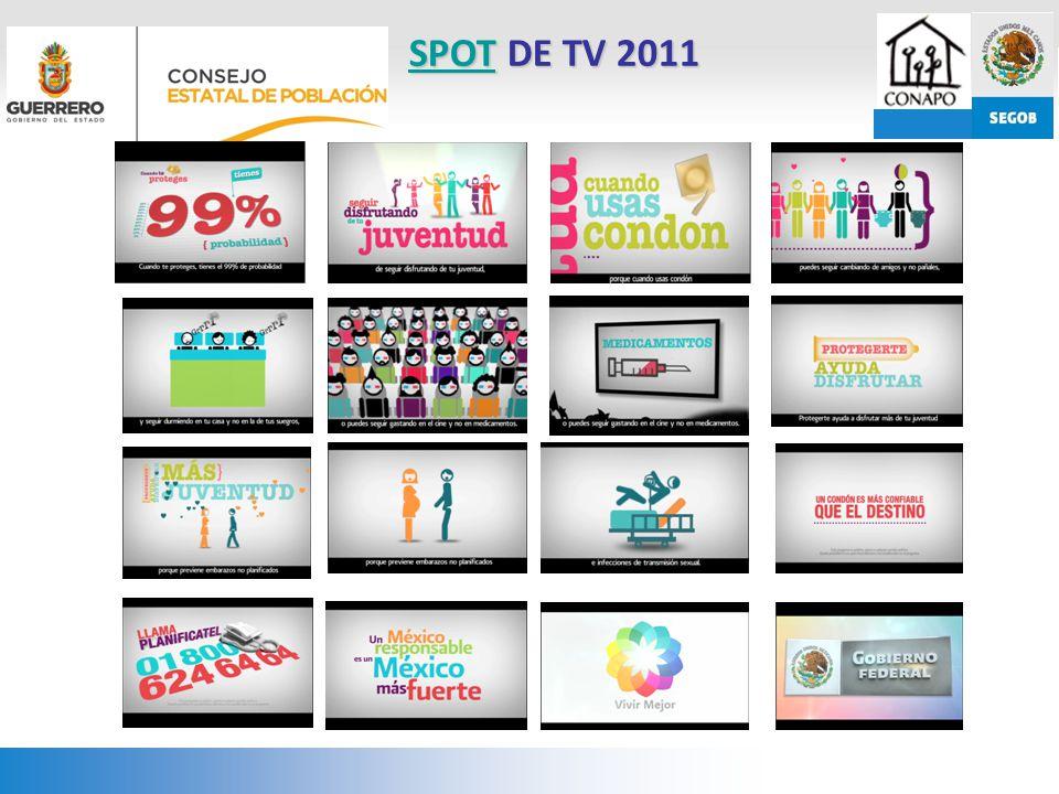 SPOT DE TV 2011