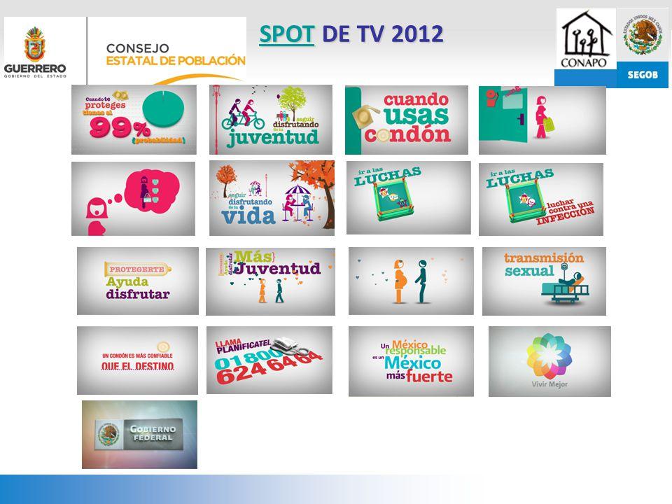 SPOT DE TV 2012