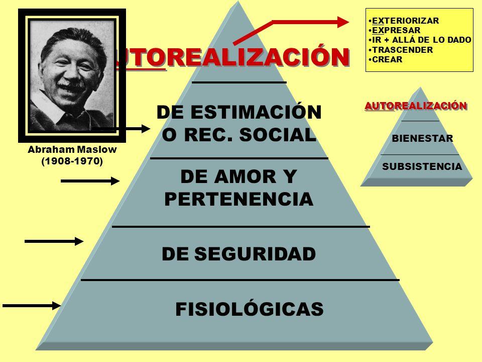 DE ESTIMACIÓN O REC. SOCIAL