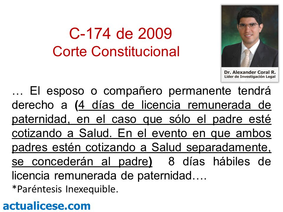C-174 de 2009 Corte Constitucional